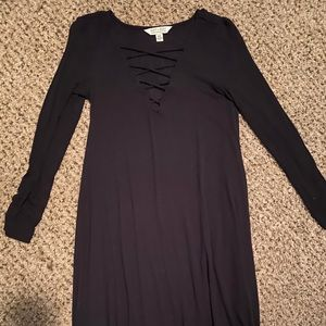American Eagle Soft & Sexy Black Dress